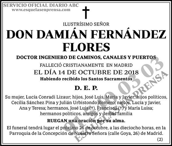 Damián Fernández Flores